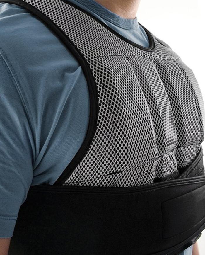 SKLZ SAQ-WV10-02 Training Gewichtsweste Weighted Vest Black//Gray