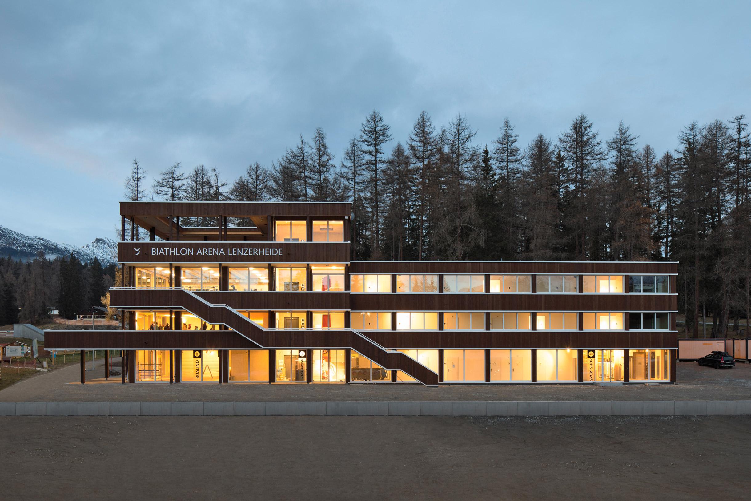 nordic house biathlon arena lenzerheide
